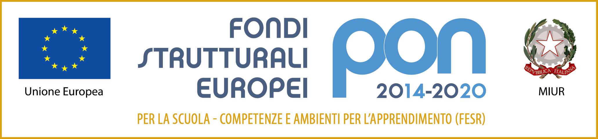 PON-fondi Strutturali Europei-Scuola beneficiaria